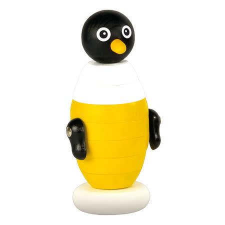 【德國HEROS木製積木】Polly波利小企鵝疊疊樂-73702