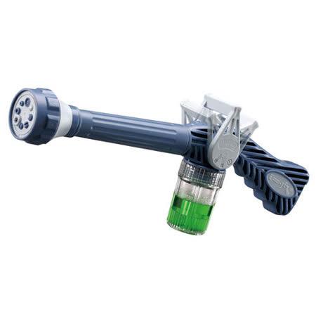 【金德恩】EZ-JET多功能高壓水槍(八段噴頭/藍)