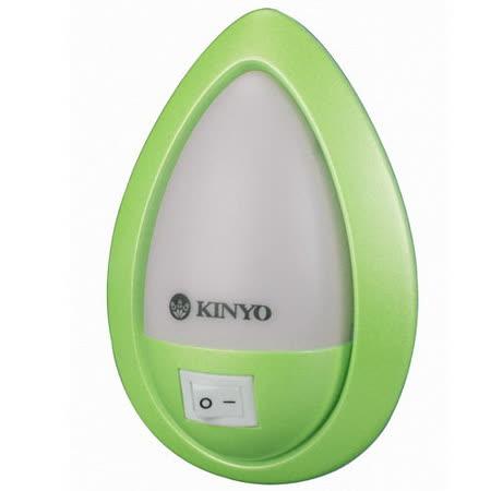 KINYO 氣氛LED小夜燈-白光(NL-11)-2入