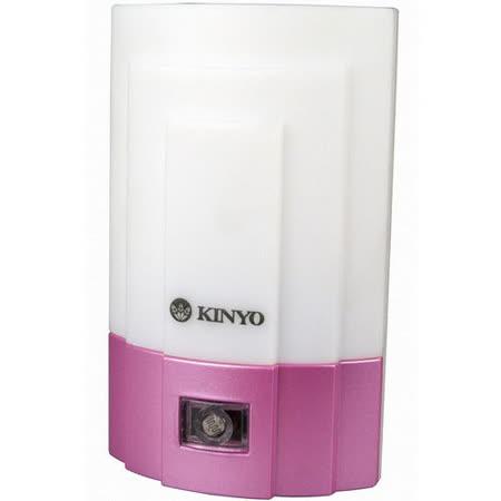 KINYO 光控LED小夜燈-白光(NL-15)-2入