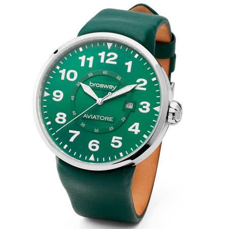 【勸敗】gohappy【brosway】Oblo Aviatore 男錶鋼面皮帶 綠色好用嗎happy go 快樂 購 卡 網站