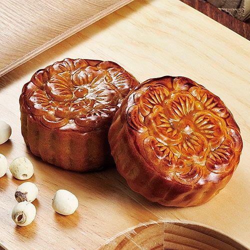 奇華傳統廣式月餅禮盒6粒/盒