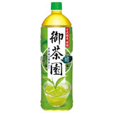 御茶園日式無糖綠茶1.25L