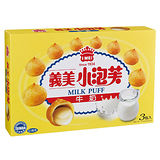 義美小泡芙-牛奶口味3包/盒