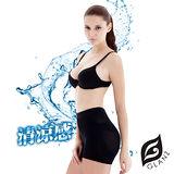 GLANZ 格藍絲 280丹3D涼感平腹翹臀一分束褲(7件組)