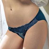 【LADY】蜜爾娜系列 中腰三角褲(澤光藍)