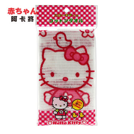 KITTY寶寶舒柔沐浴巾 -friDay購物 x GoHappy