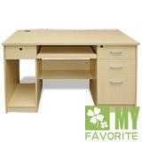 【喬立爾】最愛傢俱 經典4呎電腦書桌 (白橡)