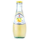 《S.Pellegrino》聖沛黎洛氣泡水果飲料-萊姆口味(200mlx6瓶)