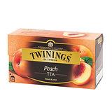 《TWININGS》唐寧茶 香甜蜜桃茶(2g*25)