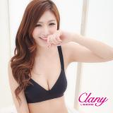 【可蘭霓Clany】輕舒生活吸濕排汗無鋼BCD內衣 神秘黑 6623-63