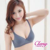 【可蘭霓Clany】輕舒生活吸濕排汗無鋼BCD內衣 優雅灰 6623-62