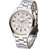 東方錶 ORIENT 晶彩羅馬時尚中性錶 FUX01004W