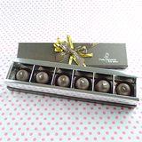 JOYCE巧克力工房-爆漿白蘭地松露手工巧克力禮盒-6入禮盒