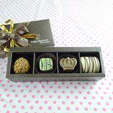 JOYCE巧克力工房-情人綜合巧克力禮盒-4入禮盒