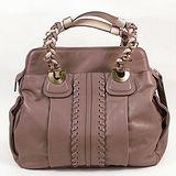 【Chloé 】新款 Heloise Shoulder bag 羊皮肩背包(粉紫/大)