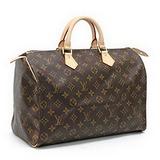 Louis Vuitton LV M41107 M41524 Speedy 35 經典花紋手提包 預購
