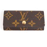 Louis Vuitton LV M62631 經典花紋4扣鑰匙包 現貨