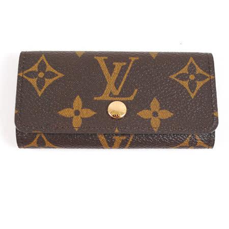 Louis Vuitton LV M62631 經典花紋4扣鑰匙包_現貨