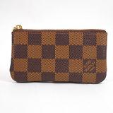 Louis Vuitton LV N62658 棋盤格紋小型方型鑰匙零錢包 現貨