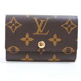 Louis Vuitton LV M62630 Monogram經典花紋6扣鑰匙包 現貨