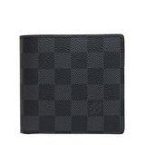 Louis Vuitton LV N62664 黑棋盤格紋信用卡零錢中短夾 預購