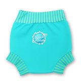 潑寶 Splash About - Happy Nappy 游泳尿布褲-水藍 / 珊瑚綠條紋