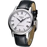 天梭 TISSOT CARSON 經典紳士機械腕錶 T0854071601300