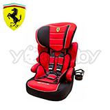 法拉利 Ferrari 旗艦成長型汽車安全座椅/汽座 紅色