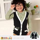 【魔法Baby】DODOMO品牌~紳士風假兩件上衣~男童裝~k29161