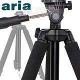 【Aria】黑金鋼四節鋁合金專業型腳架AA-722ST(黑色)-加送八抓章魚桌上型腳架