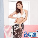 【夏之戀SUMMERLOVE】浪漫黑色沙龍外搭裙E13715