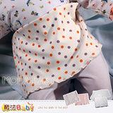 【魔法Baby】寶寶用高雅腹卷2件入(藍條組.桔條組)~嬰幼兒用品~時尚設計~k04734