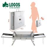 【日本LOGOS】賽神仙公文包式烤爐/烘烤爐/烤肉爐LG81063460