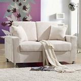 【日安家居】Phalane法樂尼收納型雙人布沙發(4色)
