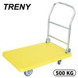 TRENY-荷重500KG-5吋PPR輪塑鋼手推車-6179