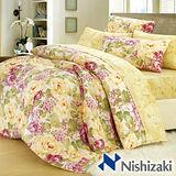 【西崎】玫瑰蔓舞-加大精梳棉六件式被套床包組