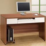 Homelike 艾琳4尺電腦書桌(含主機架)