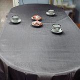 【Homemaker】素面金屬桌巾-長150cmX寬137cm (RN-PW73-048-5)