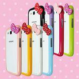 [ZIYA] Samsung Galaxy S3 i9300 炫彩蝴蝶結雙色邊框