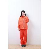 OutPerform-日系刷毛雨衣單衣夾克-亮桔色