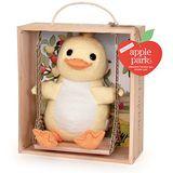 美國【Apple Park】有機棉玩偶彌月禮盒 - 鞦韆小鴨