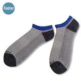 (任選)Footer健康除臭襪 MEN運動氣墊船短襪(F34淺灰)