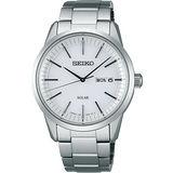SEIKO SPIRIT 太陽能日系時尚腕錶-銀 V158-0AM0S