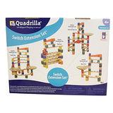 諾貝兒益智玩具 【Quadrilla】德國迷你滾珠積木-Switch Extension Set 花式擴充版