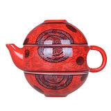 PUSH! 隨身茶具 旅遊茶具 茶壺 茶杯 附攜帶包