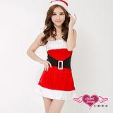 【天使霓裳】簡約凡爾賽 狂熱聖誕舞會 耶誕服 角色服(紅)
