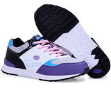 USA APPLE美國蘋果款5575紫淺灰正品女士運動鞋滑板鞋旅遊鞋氣墊鞋休閒鞋登山鞋