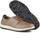 USA APPLE美國蘋果款8671卡其色正品男士運動鞋滑板鞋旅遊鞋氣墊鞋休閒鞋登山鞋
