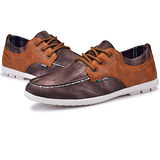 USA APPLE美國蘋果款8720深棕色正品男士運動鞋滑板鞋旅遊鞋氣墊鞋休閒鞋登山鞋